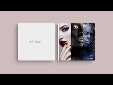 """Inspiración para la portada de su álbum digital: """"Porfolio fotográfico"""""""