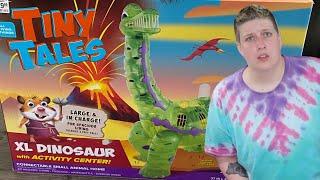 OH, PETSMART HONEY...NO | Tiny Tales Dinosaur Hamster Cage