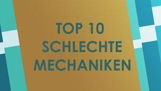 Top 10 Schlechte Mechaniken in Brettspielen