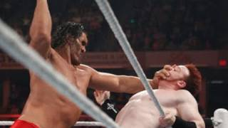 Raw: The Great Khali vs. Sheamus