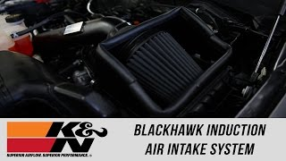 Freedom Ford: K&N Blackhawk Induction Air Intake System