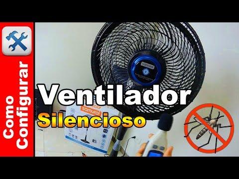 Nuevo Ventilador Samurai Turbo Silence Extreme Repelente
