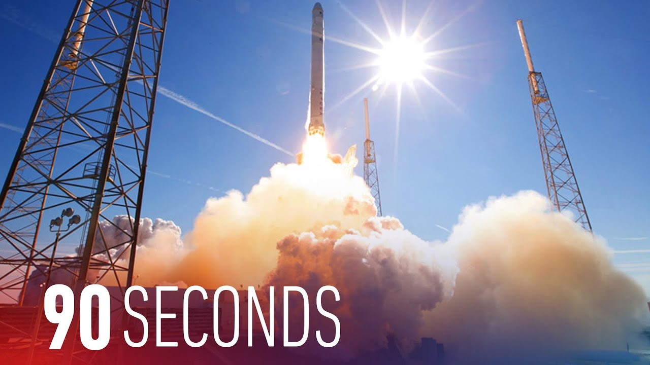 SpaceX continues its mission toward reusable rockets: 90 Seconds on The Verge thumbnail