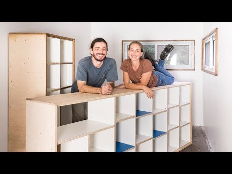 DIY Plywood Furniture – Living Tiny Project #060