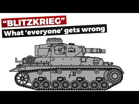 Blitzkrieg: Mýty a fakta