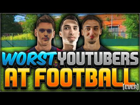 THE WORST FIFA YOUTUBERS AT FOOTBALL??!!!
