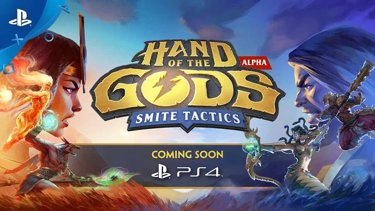 New CCG/Strategy Game Hand of the Gods: SMITE Tactics Coming to PS4