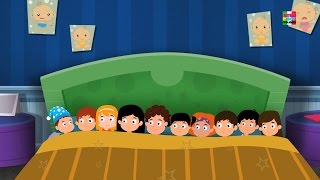 Dieci nel il letto | vivaio rima | Eductional Video | Kids Song | Nursery rhyme | Ten In The Bed