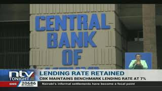 The Central Bank has retained its benchmark lending rate at 7