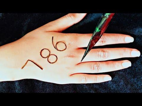 Download 786 Simple Stylish Arabic Mehndi Design For Hands Henna