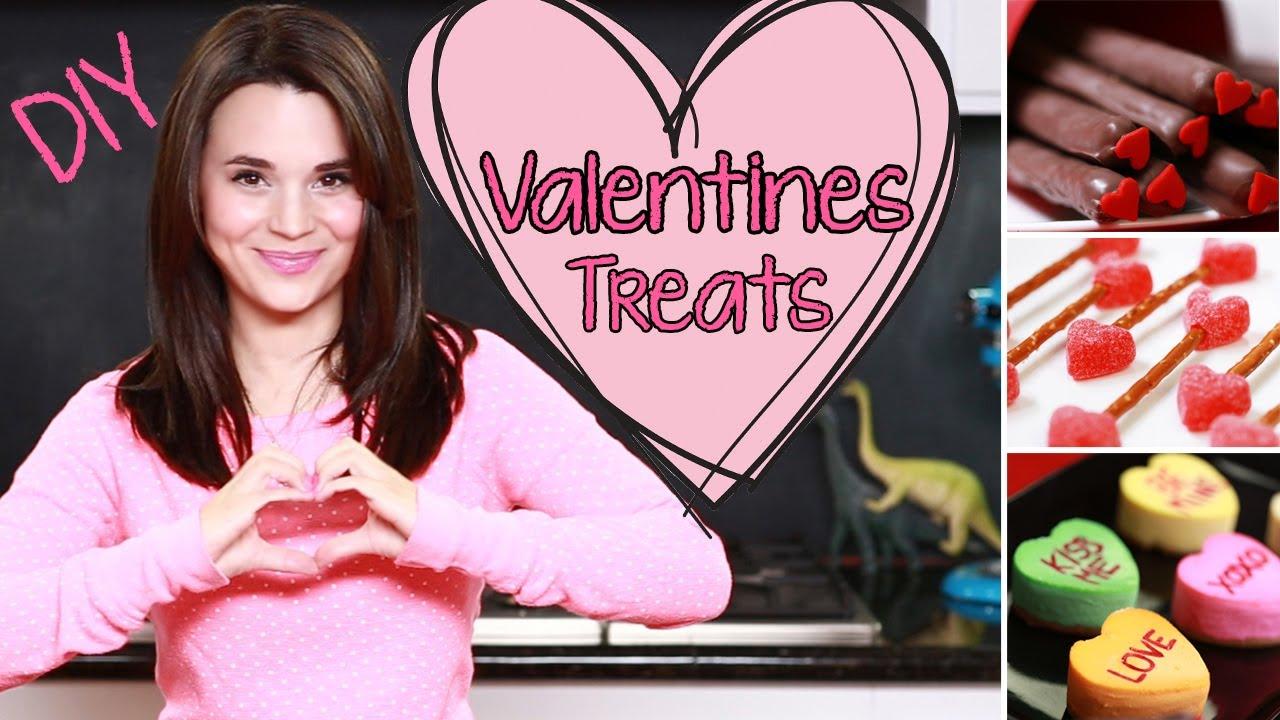 DIY Valentines Day Treats thumbnail
