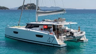 Catamarans BROCHURE-FOUNTAINE PAJOT SAONA 47, Manufacturer: FOUNTAINE PAJOT , Model Year: 2019, Length: 46ft, Model: Saona 47, Condition: New, Listing Status: Coming Soon, Price: USD