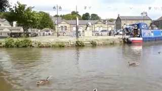 preview picture of video 'Canal Trip, Skipton, North Yorkshire....'