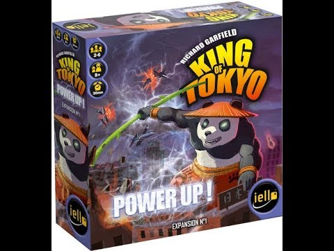The Purge: # 1507 King of Tokyo: Power Up!: A necesssary expansion?  Do these monsters need more powers?