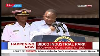 President Uhuru's remarks during the launch of Bidco Industrial Park