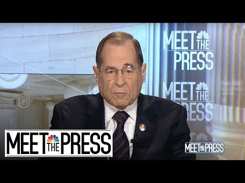 Full Nadler: 'Executive Privilege Cannot Be Used To Hide Wrongdoing' | Meet The Press | NBC News