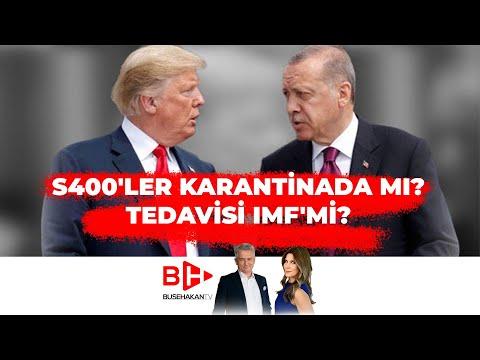 Korona Sonrası S400'ler Karantinada mı? Tedavisi IMF'mi? Erdogan ile Trump Telefonla Görüştü.