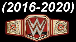 WWE Universal Championship History (2016-2020)