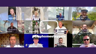 Stay Home Stay safe - Full celebrity video