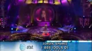 Jordin Sparks - Wishing On 7 a Star - American Idol Season