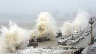 video: Monster cyclone Tauktae leaves 20 people dead in Covid-stricken India