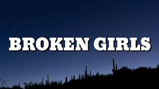 Gabbie Hanna   Broken Girls (Lyrics)
