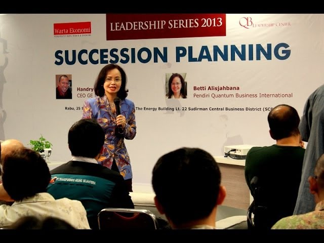 Betti Alisjahbana: Succession Planning