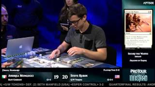 Pro Tour Shadows over Innistrad Finals: Andrea Mengucci vs. Steve Rubin