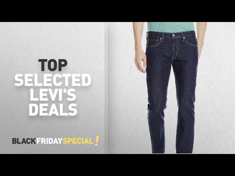 Top Black Friday Levi's Deals: Levi's Men's 511 Slim Fit Jean, Lazuli Bunting, 30W x 32L