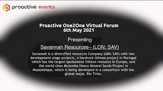savannah-resources-lon-sav-presenting-at-the-proactive-one2one-virtual-forum
