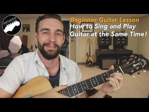 Beginner Guitar Lesson - How to Sing and Play at the Same Time - 5 Tips!