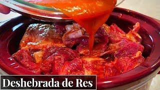 Carne deshebrada de Res en salsa roja | La Capital