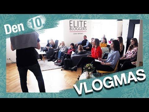 VLOGMAS Den 10. | Workshop sociálních sítí a vánoční tradice!