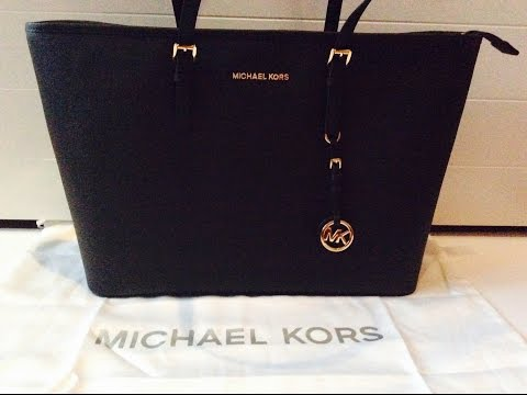 Michael Kors Jet Set Travel Tote Review ~ BAG GIRL