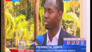 Presidential date: Abduba Dida says he has been discriminated against by the debate commitee