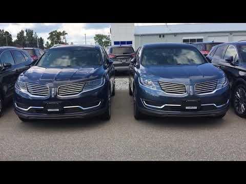 2018 Lincoln MKX - Wheel Options