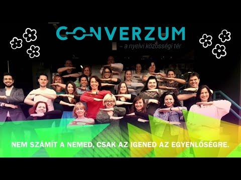 Converzum - a nyelvi közösségi tér - Csapatvideó