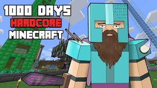 I Survived Hardcore Minecraft For 1000 Days And This Is What Happened
