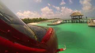 preview picture of video 'GO PRO HD 3 - Seaplane over the Maldives'