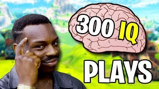 WHEN PLAYERS HAVE 300 IQ (Fortnite Genius Plays)