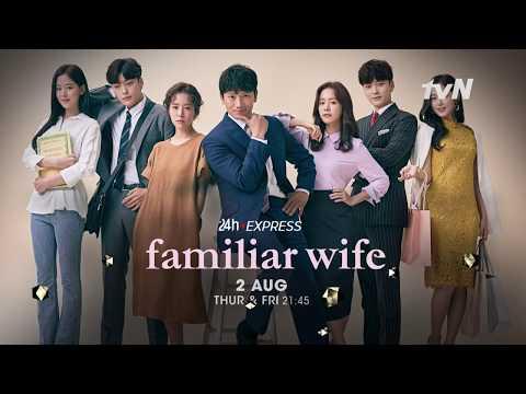 2018 k drama  quot familiar wife quot  starring ji sung  amp  han ji min