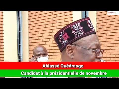 Ablassé Ouédraogo appelle à un dialogue national et au retour des exilés politiques
