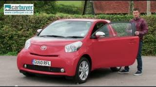 Toyota iQ hatchback review - CarBuyer
