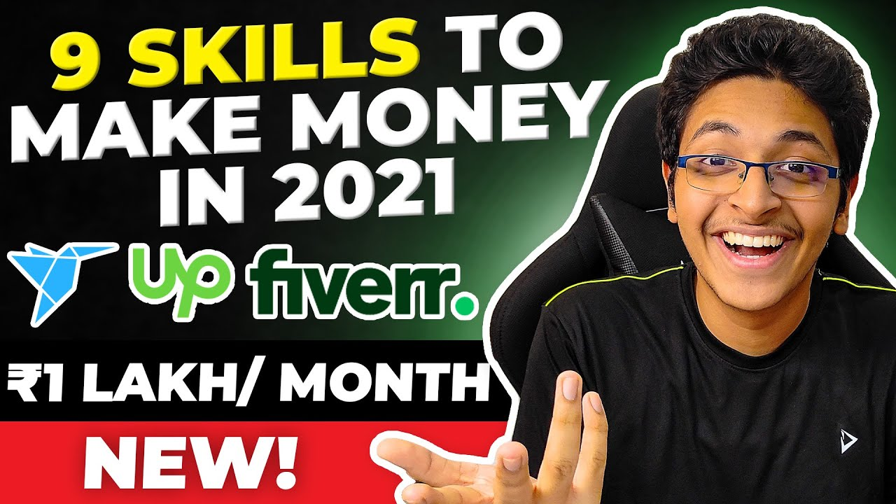 9 Abilities to Earn Money Online in 2021|Greatest Paid Freelancing Abilities on Fiverr & Upwork thumbnail