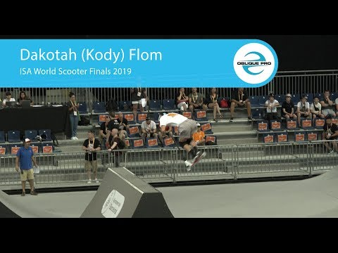 Cody Flom - ISA Men's World Scooter Semi Finals 2019