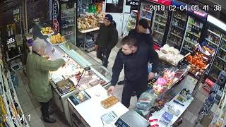 м Шаргород магазин Люкс  Група захвата пива !2019