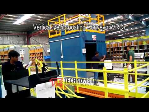Vertical Reciprocating Conveyor