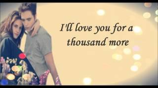 Christina Perri Ft. Steve Kazee - A thousand Years(Part2) letra/Lyrics ♪♥