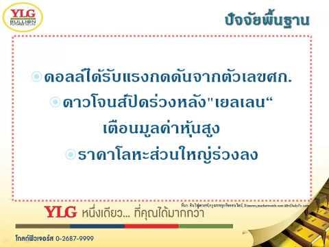 YLG บทวิเคราะห์ราคาทองคำประจำวัน 07-05-15