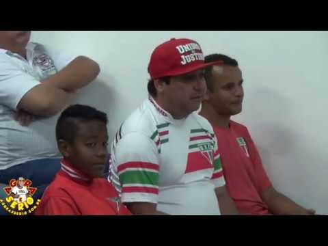 Tribuna Escolinha de Futebol do Unidos da Favela do Justinos dia 10 de Outubro 2017